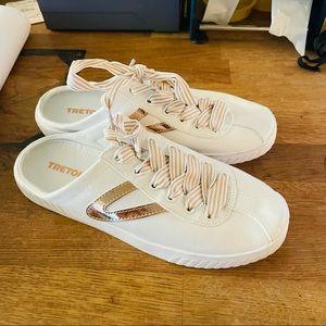 Tretorn X J. Crew Women's Slip On Mule Sneakers